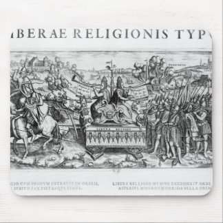 Librae Religionis Typus', allegory Mouse Pad