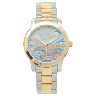 Librarian 19th Century Marbled Paper Watch