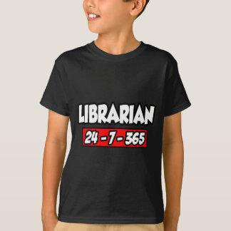 Librarian 24-7-365 T-Shirt