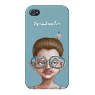 Librarian and Bookworm Friend iPhone 4 Cases