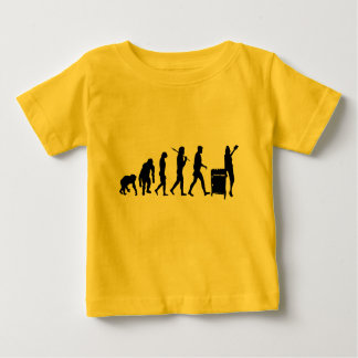 Librarian book lovers library index card gear baby T-Shirt
