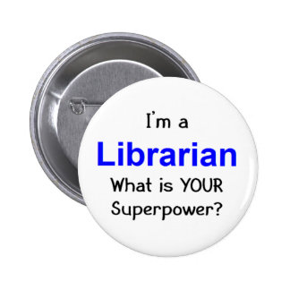 Librarian Button