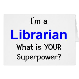 Librarian Greeting Cards