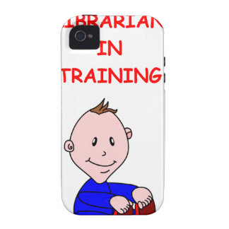 LIBRARIAN Case-Mate iPhone 4 COVER