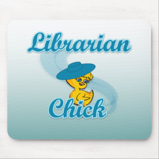 Librarian Chick #3 Mouse Pad