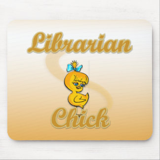 Librarian Chick Mouse Pad
