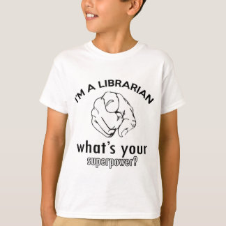 Librarian design T-Shirt