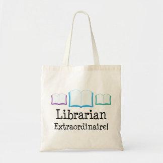 Librarian Extraordinaire Tote Bag