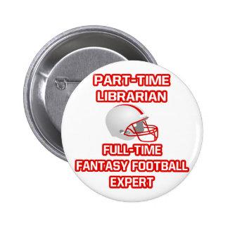 Librarian .. Fantasy Football Expert Button