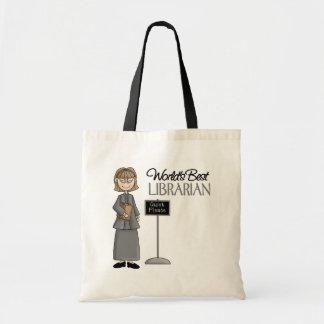 Librarian Gift Canvas Bag