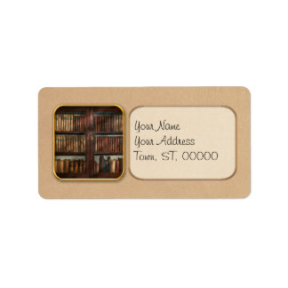 Librarian - In the library Address Label