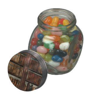 Librarian - In the library Glass Jars