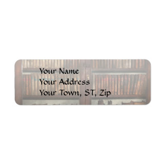Librarian - In the library Return Address Label