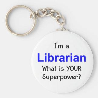 Librarian Keychain