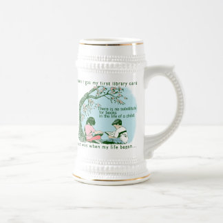 Librarian Library Beer Stein
