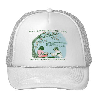 Librarian Library Trucker Hat