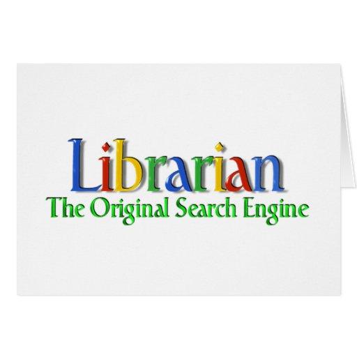Librarian Original Search Engine Card