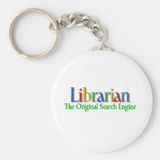 Librarian Original Search Engine Key Chain