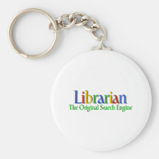 Librarian Original Search Engine Keychain