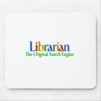 Librarian Original Search Engine Mouse Pad