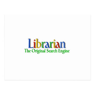 Librarian Original Search Engine Post Card