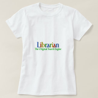 Librarian Original Search Engine Tees