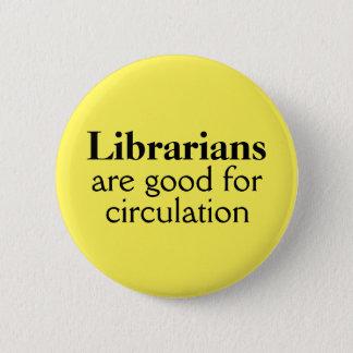 Librarian Pin Choose Your Color Funny Circulation
