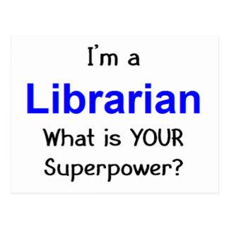 Librarian Postcard