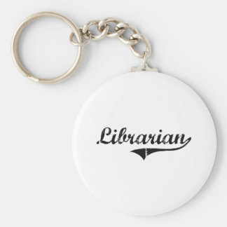 Librarian Professional Job Keychains