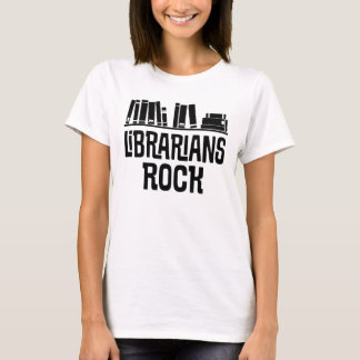 Librarian Quote Ladies Tee Shirt