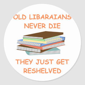 librarian stickers
