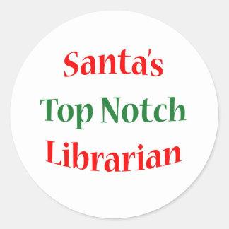 Librarian Top Notch Sticker