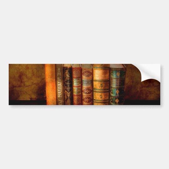 Librarian - Writer - Antiquarian books Bumper Sticker