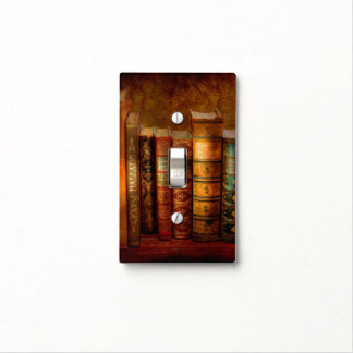 Librarian - Writer - Antiquarian books Light Switch Cover