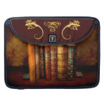 Librarian - Writer - Antiquarian books Sleeve For MacBook Pro