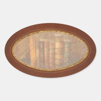 Librarian - Writer - Antiquarian books Oval Sticker