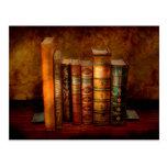Librarian - Writer - Antiquarian books Postcard