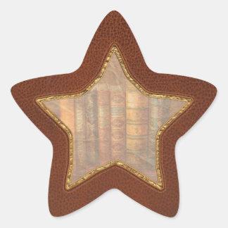Librarian - Writer - Antiquarian books Star Sticker