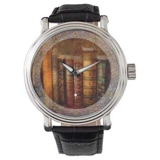 Librarian - Writer - Antiquarian books Wristwatch
