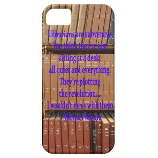 Librarians are Subversive iPhone SE/5/5s Case