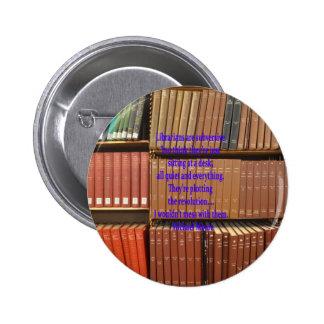 Librarians are Subversive Pinback Button