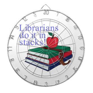 Librarians Dartboard