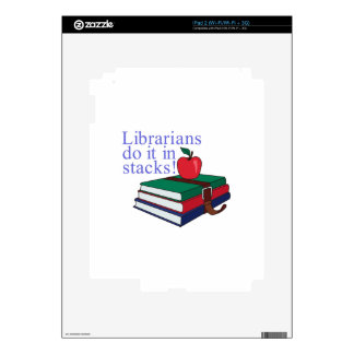 Librarians Decal For The iPad 2