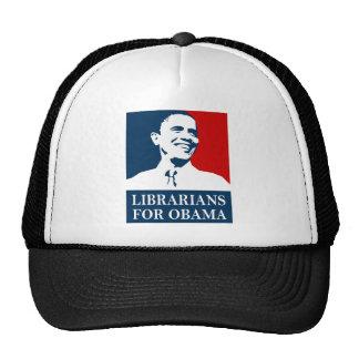 librarians for obama trucker hat