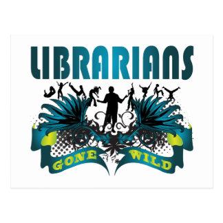 Librarians Gone Wild Postcard