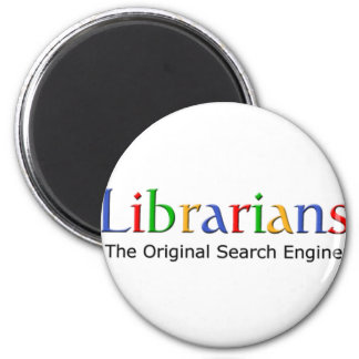 Librarians - The Original Search Engine 2 Inch Round Magnet