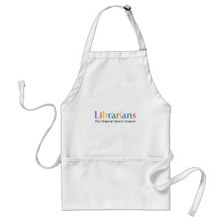 Librarians The Original Search Engine Adult Apron