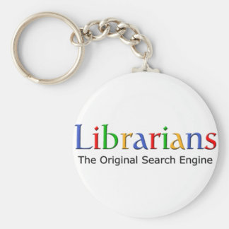 Librarians - The Original Search Engine Keychain