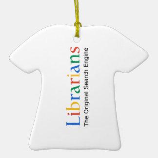 Librarians The Original Search Engine Ceramic T-Shirt Decoration