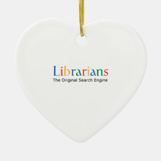 Librarians The Original Search Engine Ornaments
